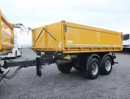 tipper semi trailer Carnehl CTK/A 3 Seiten Tandem Baustoffkipper SAF Alubordwa 2016