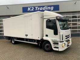 closed box truck Iveco 120E21 euro 6 bakwagen laadklep airco 2014