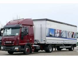 tilt truck Iveco 80E22 Eurocargo mit Auflieger kpl.Zug Citysattel 2013