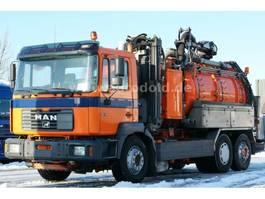 vacuum truck MAN 26.414 Kanalreiniger AquaStar Liftachse 2000