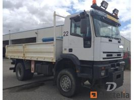closed box truck Iveco B1VPS1 4x4. 2004