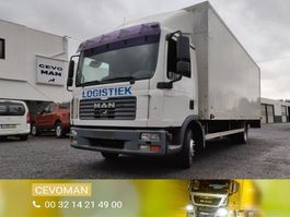 closed box truck MAN TGL 12.210 Euro4 2008