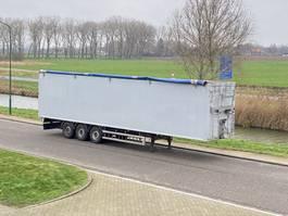 walking floor semi trailer Knapen Trailers K100 Walking Floor / 92m3 / SAF / Disc / NL / APK 2015
