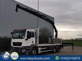 platform truck MAN TGS 26.360 hiab166b3 remote 2012