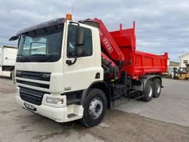 tipper truck > 7.5 t DAF CF75 2007