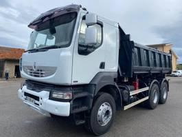 tipper truck > 7.5 t Renault Kerax 2007
