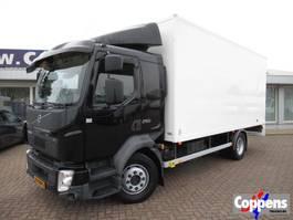 closed box truck Volvo FL 250 2017