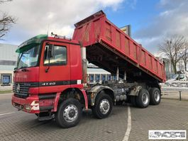 tipper truck > 7.5 t Mercedes-Benz Actros 4140 8x8 - Full steel - Manual - Big axles 1997