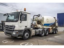 concrete mixer truck Mercedes-Benz Actros 2641 LS - MP3 + LIEBHERR 12M3 2009