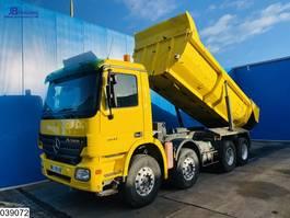 tipper truck > 7.5 t Mercedes-Benz Actros 4141 8x4, Retarder, Steel suspension, 13 Tons axles 2006