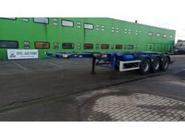 container chassis semi trailer LAG 0-3-39 L 1994