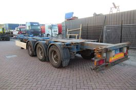 container chassis semi trailer Krone SD27 / Extendable / BPW + Drum / 20-30-40 FT (HC) 2007