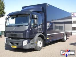 closed box truck Volvo FE 250 4x2 Gesloten bak met laadklep Euro 6 2016