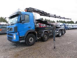 crane truck Volvo FM440 8x2*6 Euro 5 Hiab 244 EP-5 Hipro / Multilift 2008