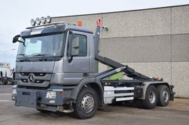container truck Mercedes-Benz ACTROS 2644 6X2 CONTAINER SYSTEEM- CONTAINER SISTEEM- CONTAINER HAAKSYSTEEM- SYSTEME CONTENEUR 2010
