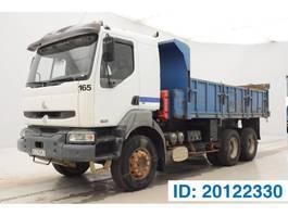 tipper truck > 7.5 t Renault Kerax 420 DCi - 6x4 2002