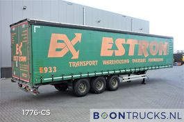 sliding curtain semi trailer Van Hool 3B2014 | ALU BORDEN * HARDHOUTEN VLOER * GEGALVANISEERD * APK 10-2021 2011