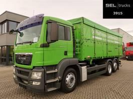 tipper truck > 7.5 t MAN TGS 26.400 6x2-2 LL / Agrar / Lenkachse