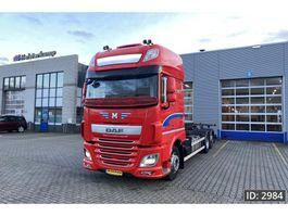 swap body truck DAF XF 440 SSC, Euro 6, // Full option // Perfect condition, Intarder 2017