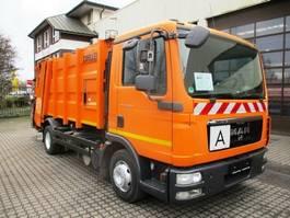 garbage truck MAN 12.250 TGL Zöller Ekopress Mini Zöller 249 2013