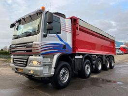 tipper truck > 7.5 t DAF 85CF 410 10x4 STEEL SUSPENSION AUTOMATIC HOLLAND 2008