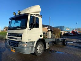 chassis cab truck DAF 75CF 310 MANUAL HOLLAND TRUCK 2006
