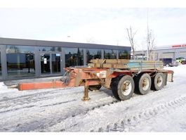 timber trailer Dennison TRIDEM , For wood , 3 axles , auto-pumping tires 2011