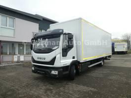 closed box truck Iveco Eurocargo 100E21/P EVI_C / Klima Euro6
