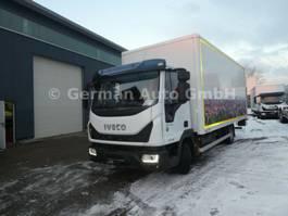 closed box truck Iveco Eurocargo 75E19/P Klima Euro6