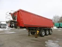 tipper semi trailer Ackermann 3-Achs Kipp Mulde Stahl-Alu Auflieger ca. 26m³ 2001