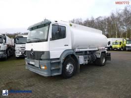 tank truck Mercedes-Benz Atego 1823 4x2 fuel tank steel 13 m3 / 3 comp 2005