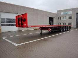 flatbed semi trailer Kel-Berg 13.5 m 2019