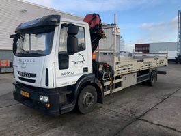 crane truck Iveco EuroCargo ML ML120E18 EEV 11.99T Automaat 2012