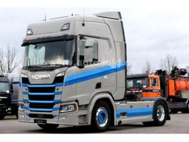 other trucks Scania R500 Retarder Scheckheft Standklima Navi Euro 6 2017