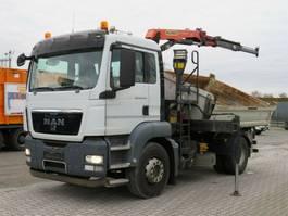 tipper truck > 7.5 t MAN TGS 18.440 4x2 2-Achs Kipper Kran 11m/to. Greif 2011