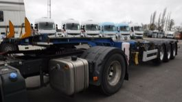 container chassis semi trailer Pacton 45' highcube 2008