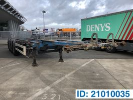 container chassis semi trailer Van Hool Polyvalent skelet 20-30-40-45 ft 2006