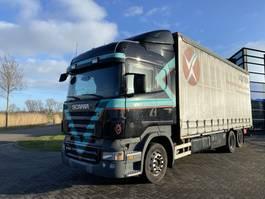 closed box truck Scania R400 Highline / Opticruise / Euro 5 / NL Truck 2009