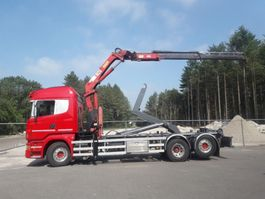 container truck Scania R 480 6x2*4  euro 5 2012