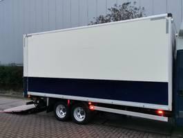 closed box trailer Veldhuizen P-33-1 2006
