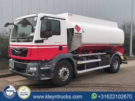 tank truck MAN 18.290 TGM 13000 ltr fuel euro 2014