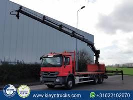 platform truck Mercedes-Benz Actros 2636 hiab 211ep4 remote 2014