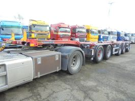 container chassis semi trailer D-TEC CT-60-05D 2004
