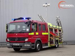 fire truck Mercedes-Benz Atego 1325 RHD - Crewcab, Doppelcabine - 1.700 ltr watertank - Feuerwehr... 2007