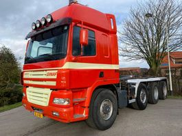 container truck Ginaf X 4243 TS 8x4 Haakarm manual 2001