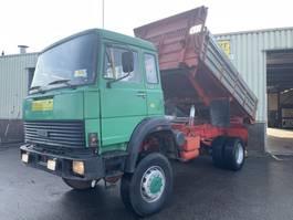 tipper truck > 7.5 t Iveco Magirus 256M19 Kipper 4x4 V10 Good Condition 1980