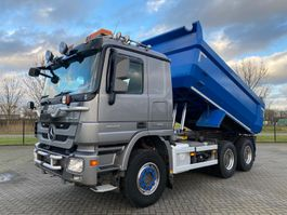 tipper truck > 7.5 t Mercedes-Benz ACTROS 2660 V8 6X4 EURO 5  RETARDER HUBREDUCTION 2012