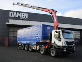 crane truck Iveco Trakker 410T50-5 10x4 Euro 6 2018