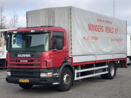 tilt truck Scania 94D 260 MANUAL EURO 2 2001