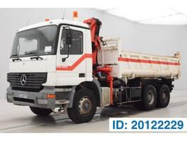 tipper truck > 7.5 t Mercedes-Benz Actros 3331 3331K - 6x4 2001